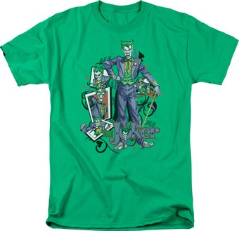 DC Comics - Batman - Wild Cards - T-Shirt