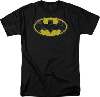 Batman - Bats in Logo - T-Shirt