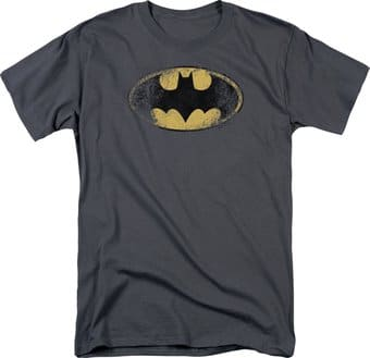 Batman - Destroyed Logo - T-Shirt