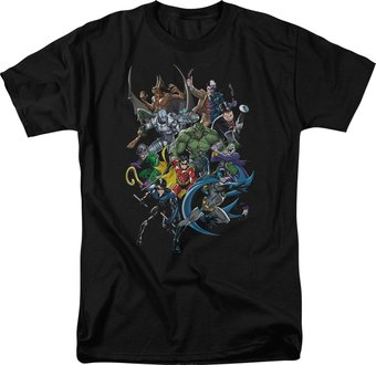 Batman - Saints and Psychos - T-Shirt