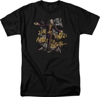 Batman: Arkham City - About to Begin - T-Shirt