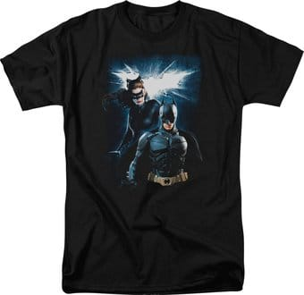 Batman: The Dark Knight Rises - Bat & Cat -