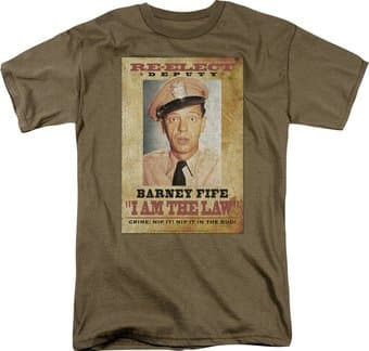 Andy Griffith Show - I Am the Law - T-Shirt