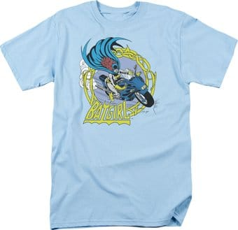 DC Comics - Batgirl - Motorcycle - T-Shirt