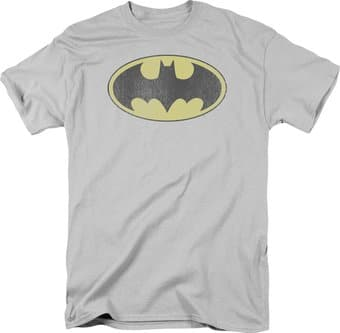 Batman - Retro Bat Logo Distressed - T-Shirt