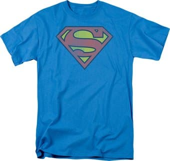 Superman - Logo Distressed - T-Shirt