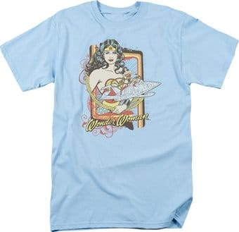 DC Comics - Wonder Woman - Invisible Jet - T-Shirt