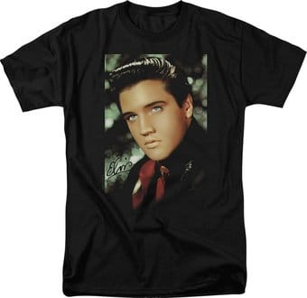 Elvis Presley - Red Scarf - T-Shirt