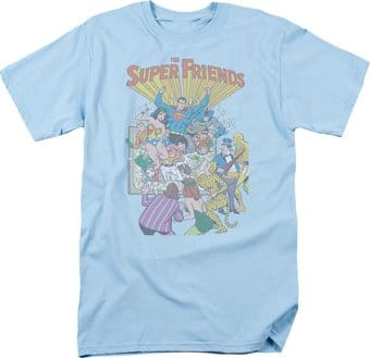 Misc. Characters: Super Friends #1 Cover - T-Shirt