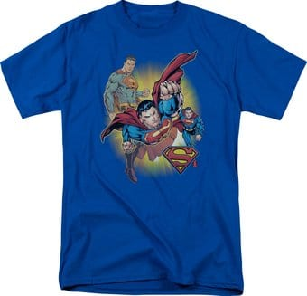 Superman - Collage - T-Shirt