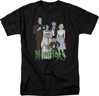 The Munsters: The Family - T-Shirt