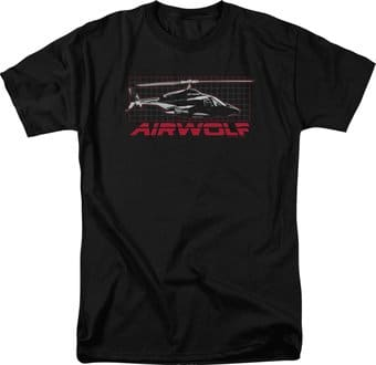 Airwolf - Grid - T-Shirt