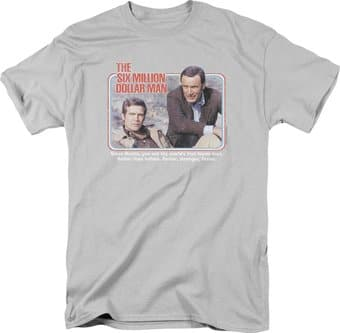 The Six Million Dollar Man: The First - T-Shirt
