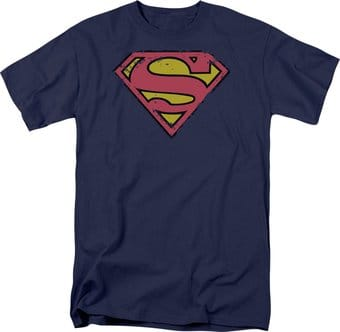 DC Comics - Superman - Distressed Shield - T-Shirt