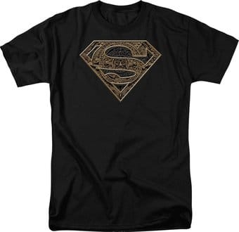 Superman - Aztec Shield - T-Shirt