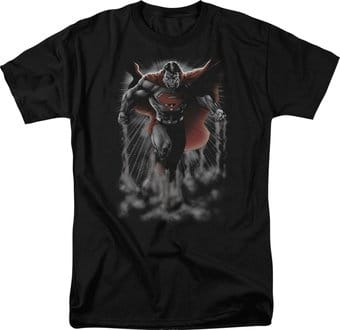 Superman - Above the Clouds - T-Shirt