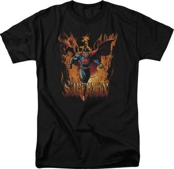 DC Comics - Superman - Through the Fire - T-Shirt
