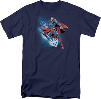 DC Comics - Superman - Crystalize - T-Shirt