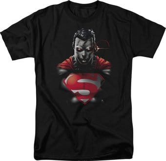 Superman - Heat Vision Charged - T-Shirt