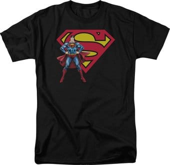 DC Comics - Superman - Superman & Logo - T-Shirt