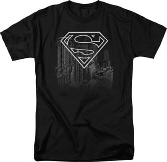 DC Comics - Superman - Skyline - T-Shirt
