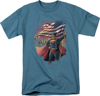 DC Comics - Superman - American Hero - T-Shirt