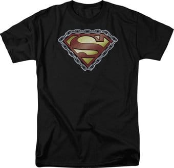 Superman - Chained Shield - T-Shirt