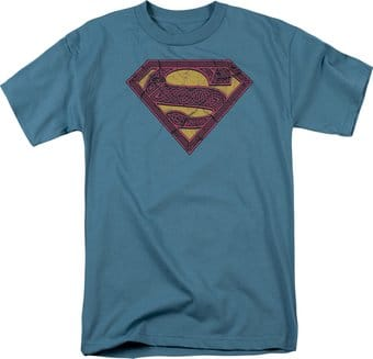Superman - Celtic Shield - T-Shirt