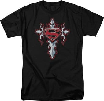 DC Comics - Superman - Gothic Steel Logo - T-Shirt