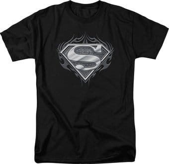 Superman - Biker Metal - T-Shirt