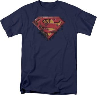 Superman - Rusted Shield - T-Shirt
