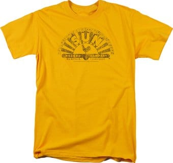 Sun Records - Worn Logo - T-Shirt
