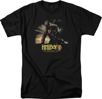 Hellboy II - Big Red - Poster Art - T-Shirt
