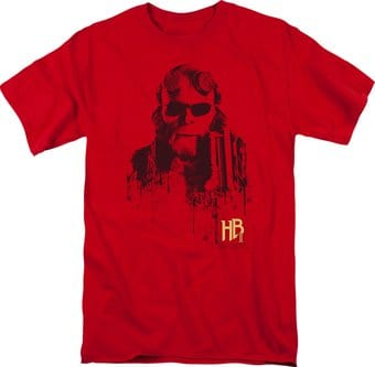Hellboy II - Big Red - Splatter Gun - T-Shirt