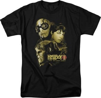 Hellboy II - Big Red - Ungodly Creatures - T-Shirt