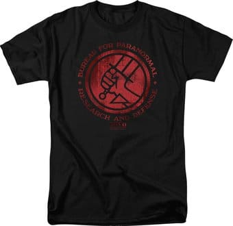 Hellboy II - Big Red - Bprd Logo - T-Shirt