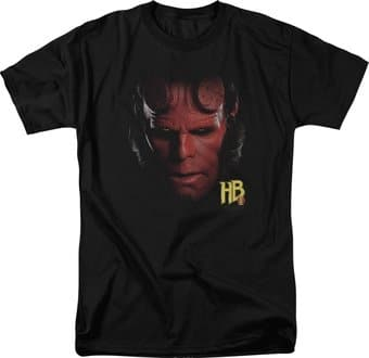 Hellboy II - Big Red - Hellboy Head - T-Shirt