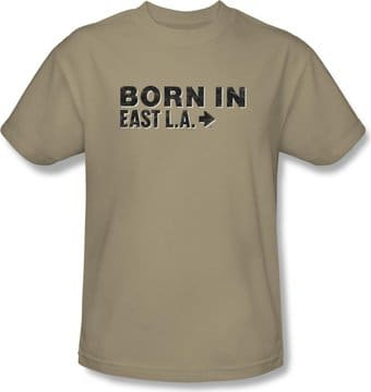 Born In East La: Logo - T-Shirt