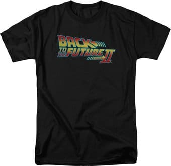 Back to the Future II: Logo - T-Shirt
