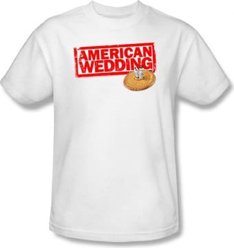 American Wedding: Wedding Logo - T-Shirt