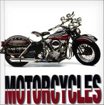 Motorcycles - Cube Book