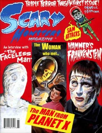 Scary Monsters Magazine #21