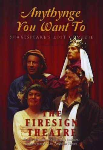 The Firesign Theatre - Anythynge You Want To: