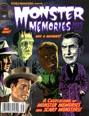 Monster Memories #21 (2013 Scary Monsters