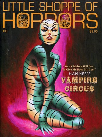 Little Shoppe of Horrors - Issue #30