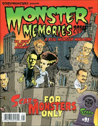 Monster Memories #22 (2014 Scary Monsters
