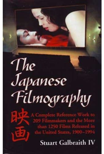 Japanese Filmography - A Complete Reference To