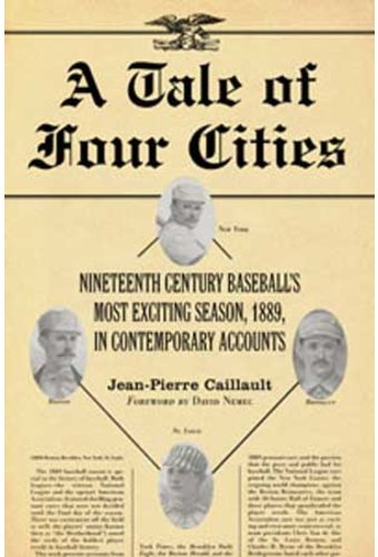 Baseball - A Tale of Four Cities: Nineteenth