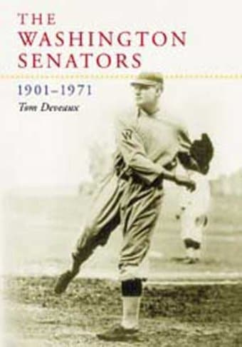 Baseball - Washington Senators, 1901-1971