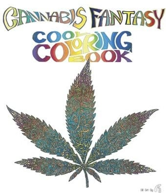 Cannabis - Fantasy Coloring Book